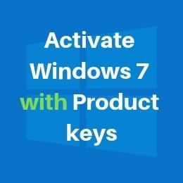 Windows 7 Product Key Free 2021 Generator 32 64 Bit Working 100 Ultimate List